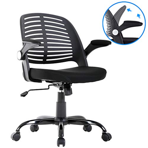 BestMassage Ergonomic Office Chair Desk Chair Mesh Computer Chair Back Support Modern Executive Adjustable Arms Rolling Swivel Chair for Women, Men
