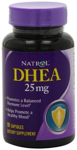 Natrol DHEA 25 мг капсулы, 90-подсчет