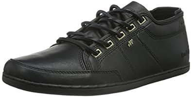 CLADD ICN Lea BLK - Zapatillas Hombre, Color Negro, Talla 42 Boxfresh