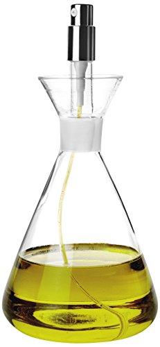 Aceitera de Cristal tipo probeta con sray