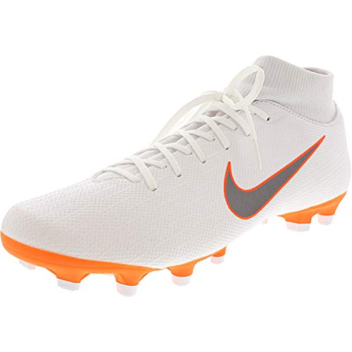 Nike Superfly 6 Academy Soccer Shoe - 10M / 8.5M - White/Metallic Cool Grey