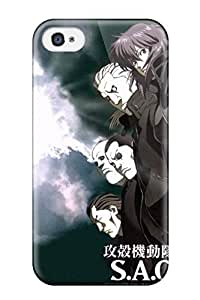 FeliciaMarcellaGibbs Iphone 4/4s Hybrid Tpu Case Cover Silicon Bumper Ghost In The Shell