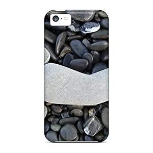 High Quality Shock Absorbing Case For Iphone 5c-stone Feat