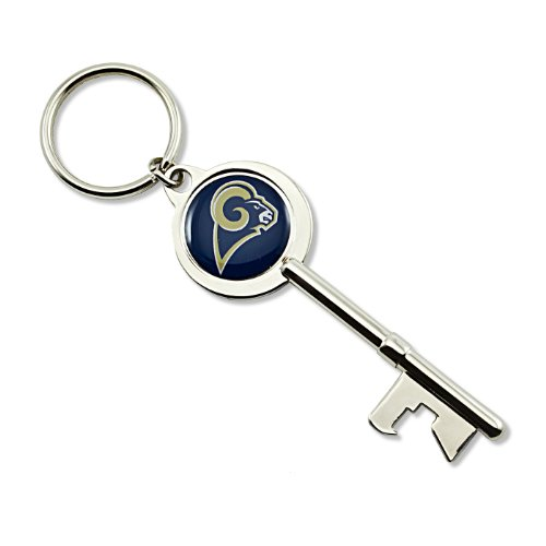 NFL St. Louis Rams Skeleton Key Bottle Opener Key (Louis Rams Key)