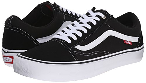 Negro Skool Pro Black white Old Vans 8zOwqO