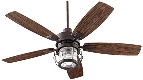 Quorum International 13525-44 Galveston Patio Fan, Toasted Sienna (Fan Sienna Toasted Patio)