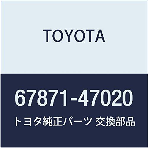 TOYOTA Genuine 67871-47020 Door Weatherstrip