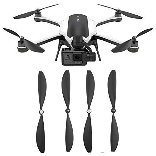 Owoda Upgrade Propeller Built-in Nuts Self-Tightening Blades CW CCW Props for GOPRO Karma Drone - 2 Pairs in Set