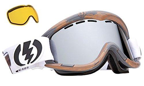 Pat Moore ProモデルElectric eg1ミラー& Extraレンズメンズ&レディーススキースノーボードゴーグル