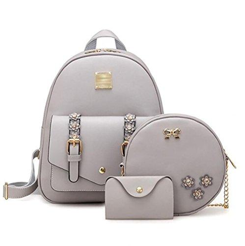casual sac des à souple femmes à multi à PU 24 12 en sac fonction la Sac 31cm main dos cuir mode PZ6Xxx