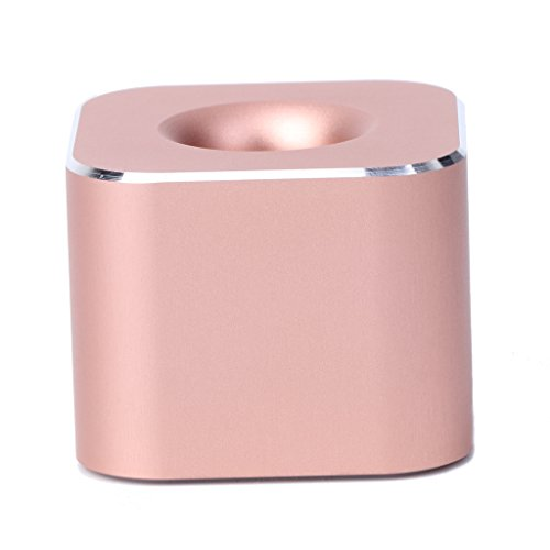 (Timberlark Creative Metal Pencil Holders Single Slot Pen Stand Office Containers Organizers (Rose Gold))