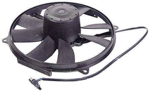 TOPAZ 0015001393 Auxiliary Radiator Cooling Fan Assembly for Mercedes W202 C220 C230 C36 AMG