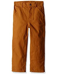 Carhartt Little Boys' Washed Duck Dungaree Pant
