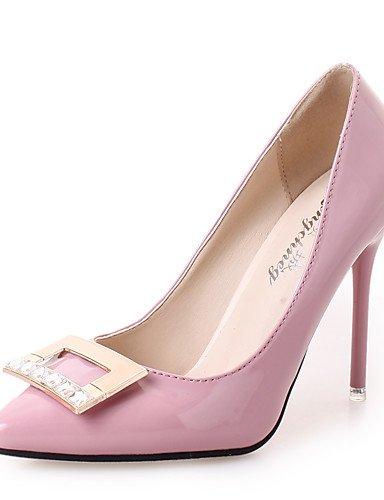 pink us7 Puntiagudos Fiesta Zapatos Negro Rojo y eu39 Tacones Stiletto cn39 Casual de us8 pink Rosa Tacones Noche Semicuero eu39 us8 y Tac¨®n Trabajo uk6 mujer uk5 cn38 5 cn3 red ZQ uk6 eu38 5 Oficina SqYAA