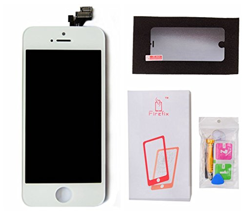 Click to buy FirefixTM LCD premiun Touch Screen Digitizer Frame Assembly Full Set Replacement for iphone 5 5G complete repair kit with tools fast shipping+2 years Warranty-White - From only $24.99