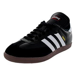 adidas Men's Samba Classic Soccer Shoe,Black/Running White,8.5 M US