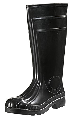 PVC/Nitril Sicherheitsstiefel schwarz S5, Größe 39