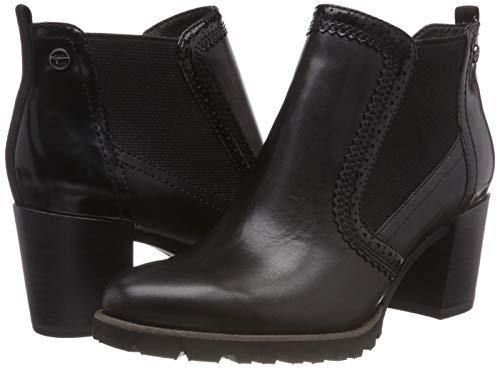 Tamaris 21 1 black Chelsea Women's Boots 25308 Black wqnpTwCg