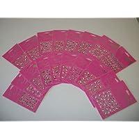 Etiquetas engomadas del arte del clavo de Hello Kitty - paquete de 10 diseños mezclados con la etiqueta engomada popular del clavo del carácter