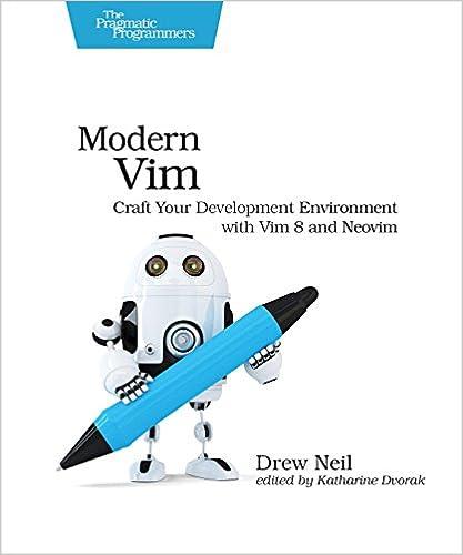 Modern Vim: Craft Your Development Environment with Vim 8 and Neovim book cover