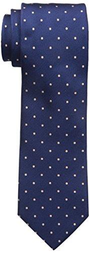 Dockers Men's Big-tall Dockers Extra Long Men's Fulton Street Dot 100% Silk Tie (xl  ...