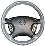 Leather Steering Wheel Cover : 14 1/2 X 4 1/8-01-black : 2008 - 2009 : Infiniti G : Wheelskins Leather Steering Wheel Cover : Black