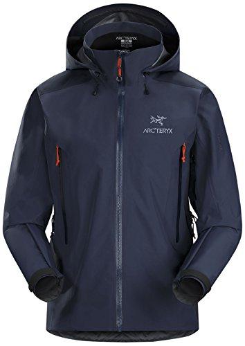 Arc'teryx Men's Beta AR Jacket, Midnight Hawk, Large - Arcteryx Beta Ar Jacket
