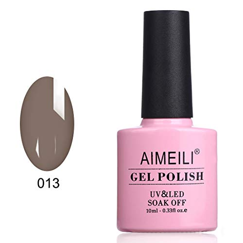 (AIMEILI Soak Off UV LED Gel Nail Polish - Rubble (013))