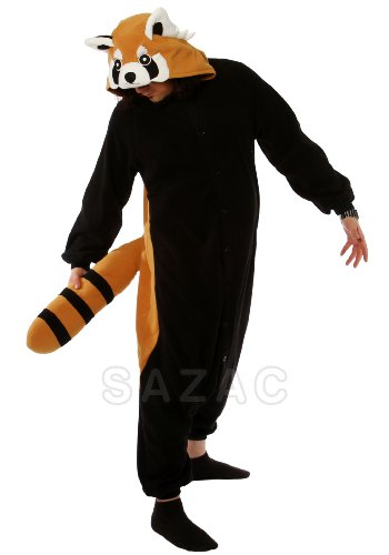 Red Panda Kigurumi (Adults (Dinasaur Costumes)