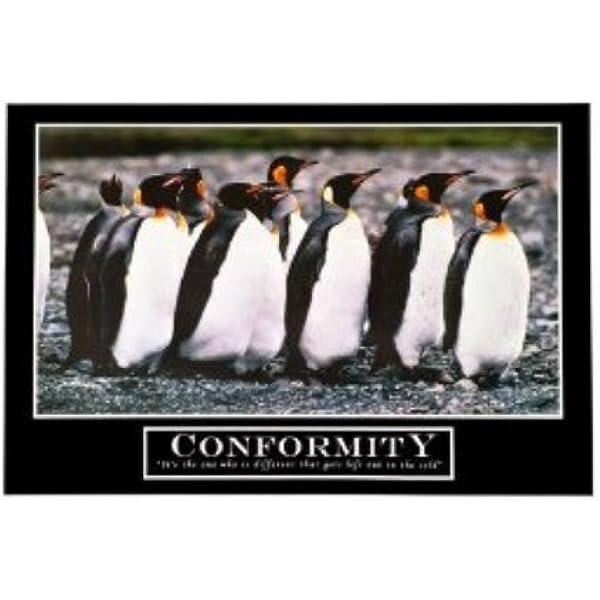 Amazon Com Lawrence Painting Barney Stinson S Conformity Motivational Poster Print Size 50x75cm C265 Posters Prints