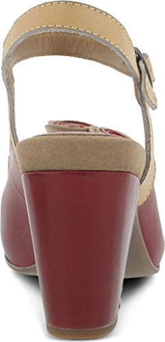 Pictures of Spring Step Women's Adorn Red Sandal Red Red 4
