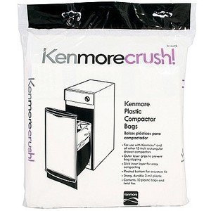 Kenmore 15 Compactor Bags count