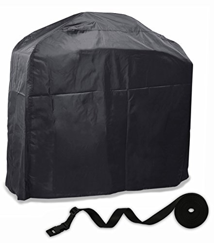 """BBQ Grill Cover Basic Gas Grill Cover, Waterproof Barbecue Cover with Double Guarantee for Windy Climates, 57""""L x 46""""H x 24""""D, - Guarantee B&q"""