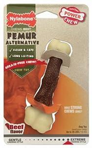60%OFF (3 Pack) Nylabone Dura Chew Femur Bone Alternative Flavored Dog Chews - Size Wolf