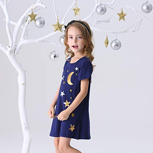 DXTON Toddler Little Girl Winter Long Sleeve Tutu Party Dresses