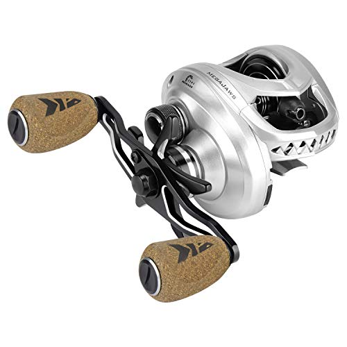 KastKing MegaJaws Baitcasting Reel,5.4:1 Gear Ratio,Right Handed Reel,Great White