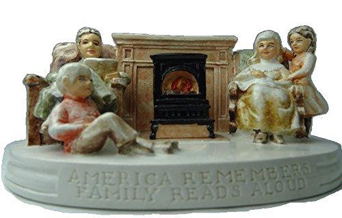 Sebastian Miniatures America Remembers Family Reads Aloud