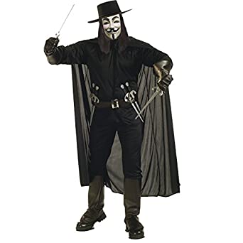 Amazon.com: V For Vendetta Complete Costume: Clothing