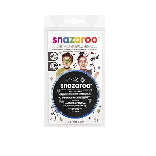 Winsor & Newton Snazaroo Face Paint 18ml Clam Pack Color - Black