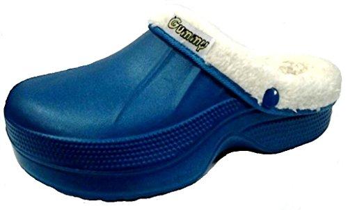 dema - Zapatillas de estar por casa de Material Sintético para mujer azul pavone 36