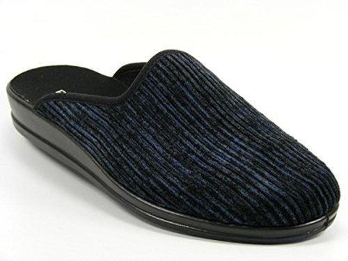 Rohde Lekeberg 2685 Herren Pantoffeln Blau (Ocean 56)