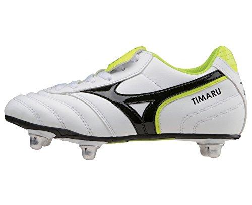 MIZUNO Timaru Junior Rugby Boot, White, UK1