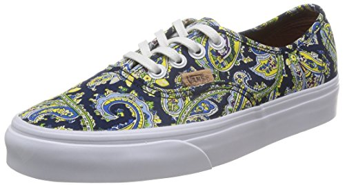 Paisley Blues Blue Authentic Dress VN0004OPITN VANS Sneaker dress Schuhe wHpgCxxq5