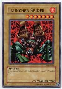 Yu-Gi-Oh! - Launcher Spider (MRD-095) - Metal Raiders - Unlimited Edition - Common