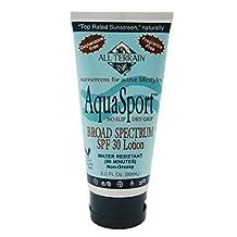 All Terrain AquaSport SPF30 Oxybenzone-Free Natural Sunscreen
