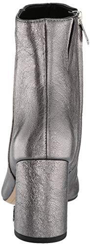 2 Leather Edelman Metallic Hilty Women's Boot Pewter Fashion Sam Dark TtqSxzq