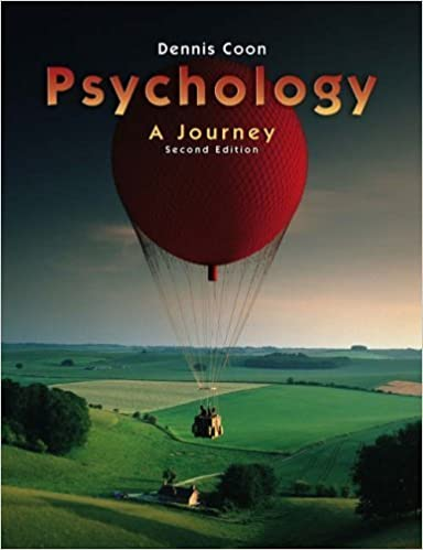 Book Psychology: A Journey (with Practice Exams and InfoTrac) (Available Titles CengageNOW) by Dennis Coon (2004-07-28)