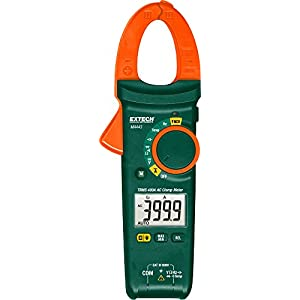 Extech MA443 True RMS 400A AC Clamp Meter with NCV