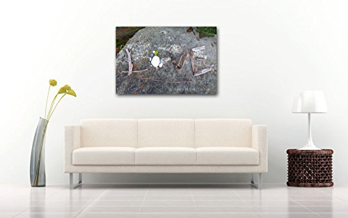 love-message-romantic-gift-photo-print-on-canvas-gallery-wrap-grey-sentimental-wall-art-ready-to-han