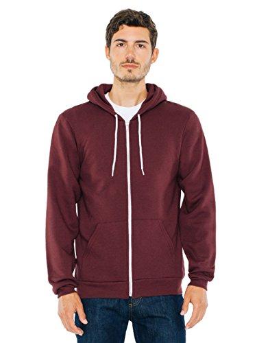 American Apparel Unisex Flex Fleece Zip Hoodie N/A 2XL